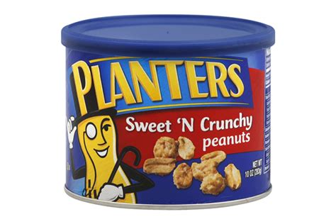 Planters Sweet And Crunchy Peanuts by Planters 174 Sweet N Crunchy Peanuts 10 Oz Kraft Recipes