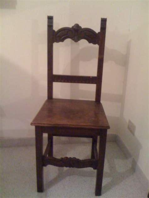 sedie antiche in legno coppia di sedie antiche in legno massello a nomentano