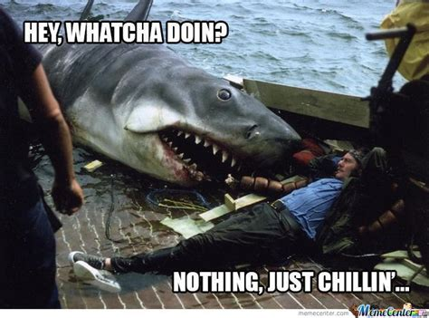 Jaws Meme - how to watch jaws in just one minute hans k c s journal