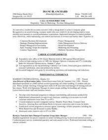 Exle Of The Resume by Hotel And Restaurant Management Resume Sales Management Lewesmr