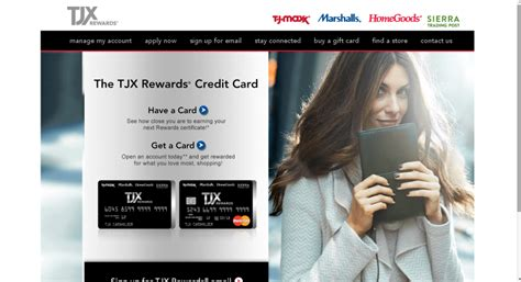 Can You Use A Tj Maxx Gift Card At Homegoods - tj maxx credit card login guide today s assistant