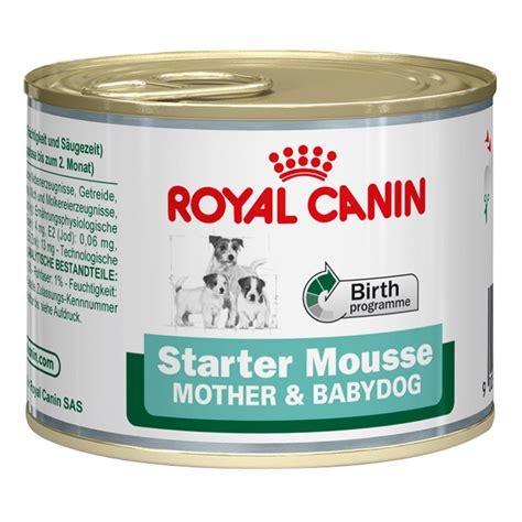 Royal Canin 195 Gr Starter Mousse And Babydog royal canin starter puppy mousse wroc awski informator