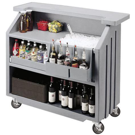 Movable Bar Cambro Portable Bar 540 Light Grey Portable Cambars
