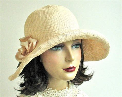 straw cloche hat fashion by katarinahats on etsy