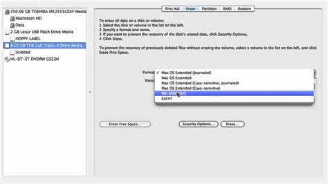 format flash drive with mac os x how to reformat format usb drive on mac os x youtube