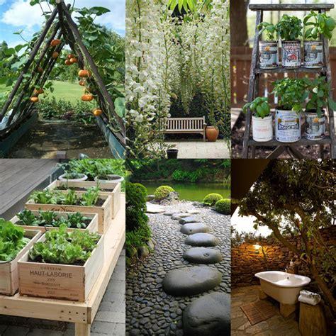 ideas para decorar casa y jardin ideas para decorar tu jard 237 n con estilo tendencia cool