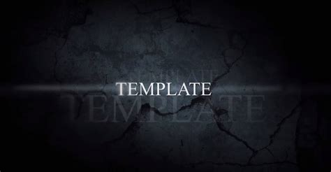after effects trailer template templates after effects gratuits 11 textes anim 233 s 224