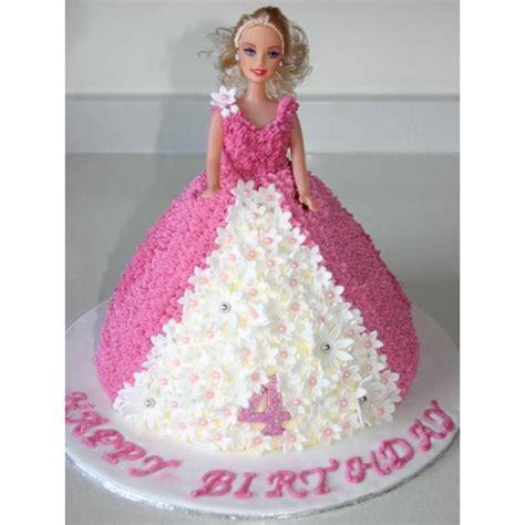Kem Dress Pink doll cake