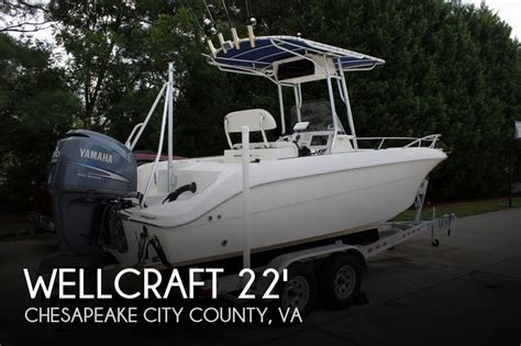 wellcraft boat dealers in va sold wellcraft 210 fisherman boat in chesapeake va 083922