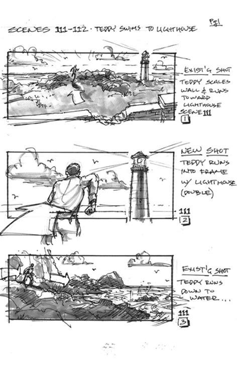 Shutter Island: immagini dello storyboards - MYmovies.it