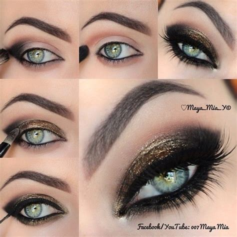 eye makeup tutorial no eyeliner grey smokey eye makeup wonderful diy6