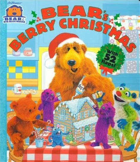 bear inthe big blue house christmas bear in the big blue house christmas books muppet wiki