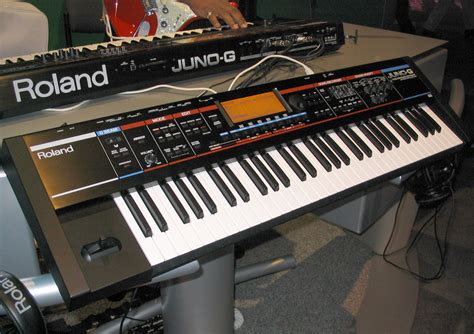 Keyboard Roland Juno D roland announces juno g version 2 0 free