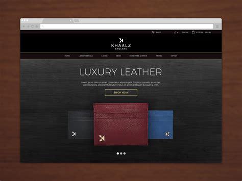 luxury website design luxury website design for khaalz 183 raouf tiliouine