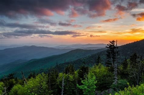 10 National Parks You Need To Visit Before You Die Sunset Cottage Gatlinburg