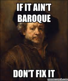 Meme Paintings - rembrandt baroque era