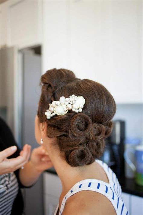 Brautfrisur Braune Haare by 1001 Ideen Und Inspirationen F 252 R Atemberaubende Vintage