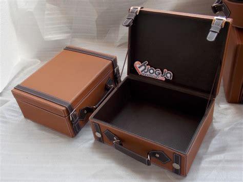 Keranjang Parcel Jogja vintage leather imitation box jogja handycraft suplier kerajinan kulit sintetis yogyakarta