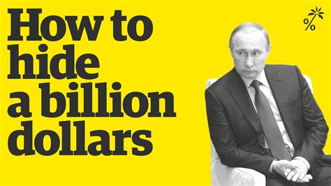 How Build A Billion Dollar how to hide a billion dollars the panama papers