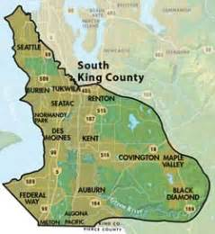 south county map south king county groundwater management area