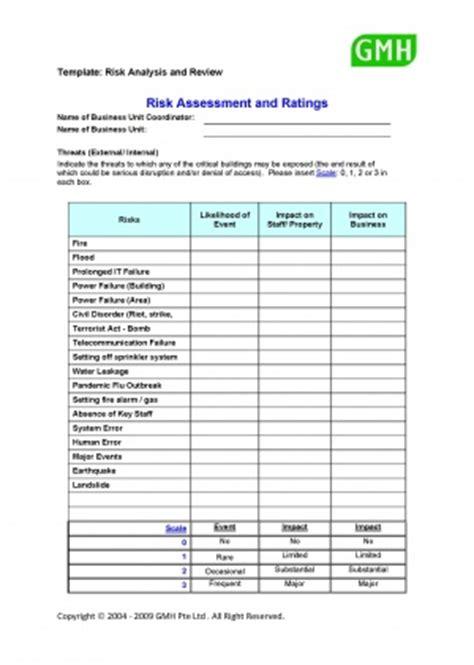 Risk Assessment Template Sle Assessment Risk Template Risk Assessments Pinterest Change Management Risk Assessment Template