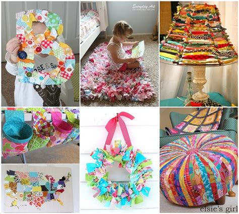 creative home decor ideas 15 creative ideas to recycle fabric scraps for home decor