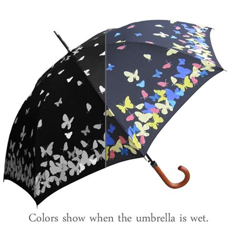 color changing umbrella color changing butterfly umbrella