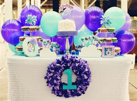Simple Balloon Decoration Ideas At Home by 34 Creative First Birthday Party Themes Amp Ideas My