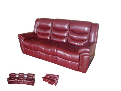 China Leather Sofa Leather Recliner Sofa Cf1001 China Leather Sofa Recliner Sofa
