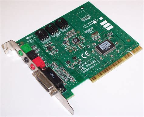 how to make a sound card creative es1371 pci sound card