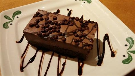 chocolate mousse cake picture of olive garden syracuse