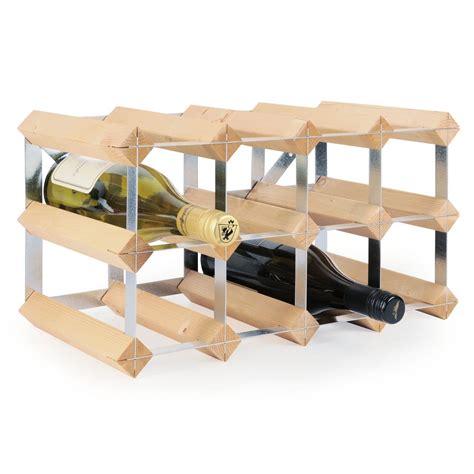 etagere trend 201 tag 232 re 224 vin trend en bois de pin non trait 233 p 30cm