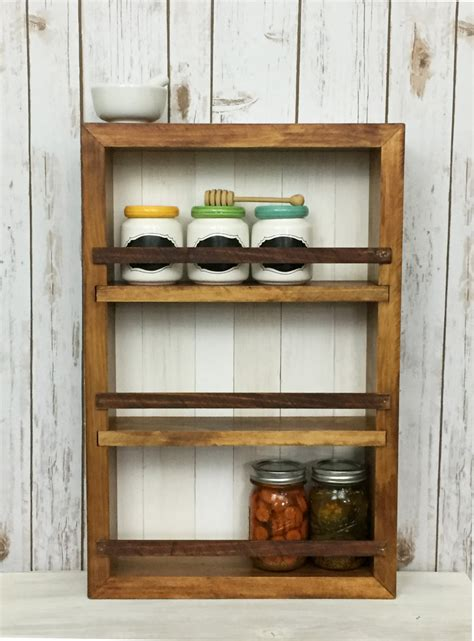 Spice Rack For Cabinet by Spice Rack Wall Cabinet Spice Racks By Woodandspoolstudio