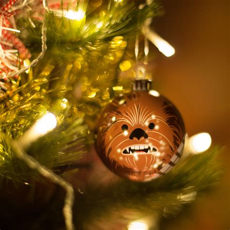 star wars bundle of 24 christmas tree ornaments baubles
