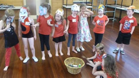 Pop Star Workshop Glenelg Drama Quot Wombat Stew Quot Youtube