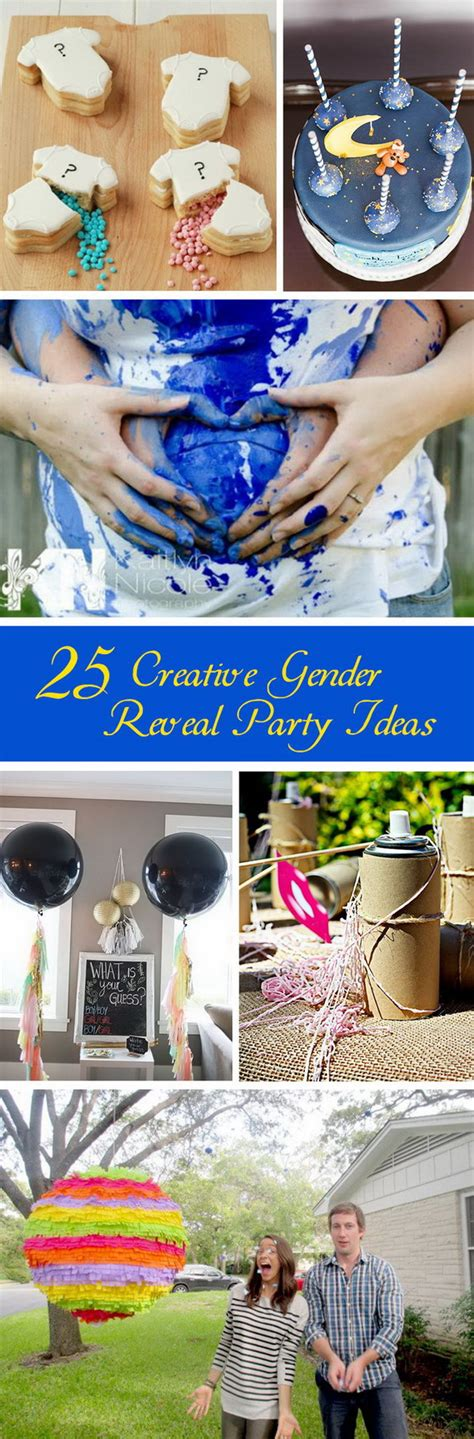 Tattoo Inspired Home Decor by 25 Creative Gender Reveal Party Ideas Hative