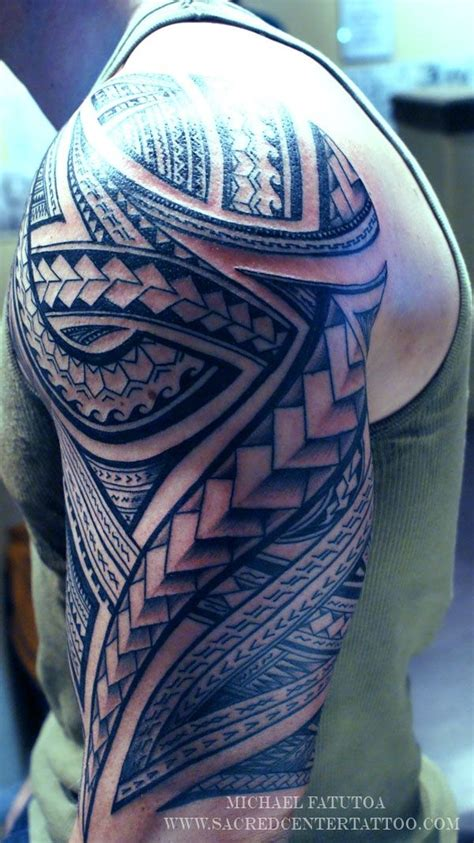 samoan full sleeve tattoo designs tribal tattoos on maori