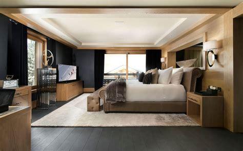 chambre a coucher de luxe moderne inspiring modern chalet interior design from alps