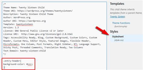 wordpress theme editor add file 5 ways to add custom css to your wordpress website