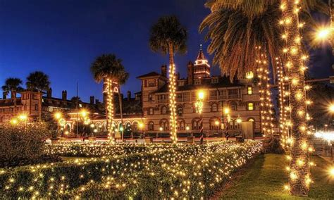 st augustine lights tour things to do during nights of lights