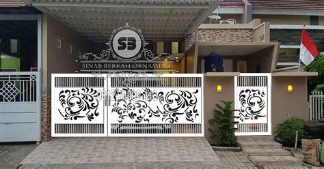 Wallpaper Dinding Murah Motif Plat Besi pagar plat minimalis pagar plat motif call 0812 74000 418 sinar berkah ornament