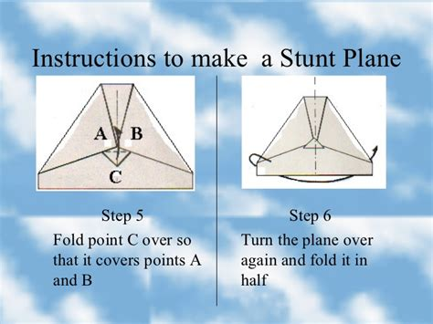How To Make A Paper Stunt Plane - how to make a paper plane