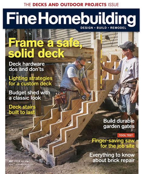 fine homebuilding magazine building magazines download free