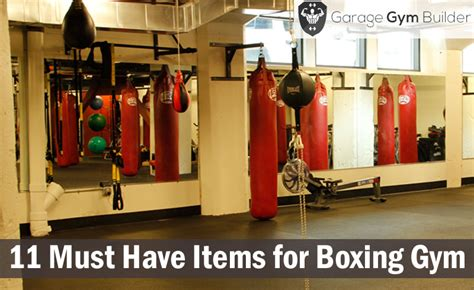 11 must items for your home boxing