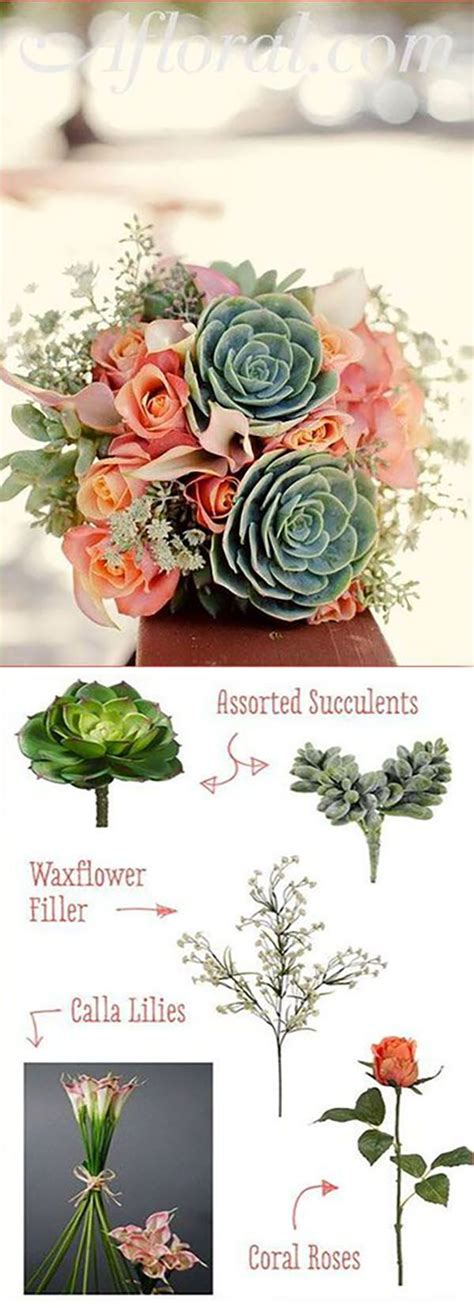 Cheap Silk Wedding Flowers by 25 Best Ideas About Flower Arrangements On