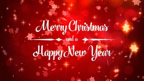 merry christmas happy  year animated background loop youtube