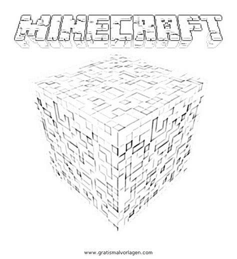 minecraft logo gratis malvorlage  beliebt diverse malvorlagen ausmalen
