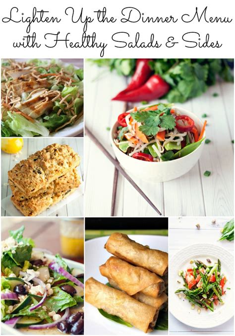 healthy dish salads 6 healthy salads and side dishes