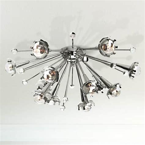 Jonathan Adler Ceiling Light by Jonathan Adler Sputnik Flush Mount Nickel Ceiling Light X1817 Ls Plus