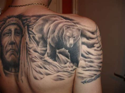 bear tattoos and designs page 6